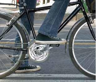 Posición del pie en el pedal