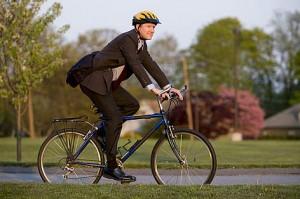 Podés usar la bici para ir a trabajar...