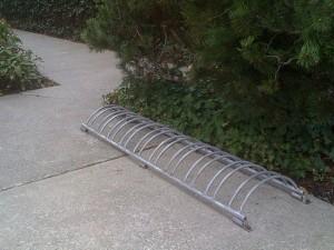 Soporte de rueda horizontal