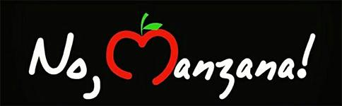 Logo de No, manzana